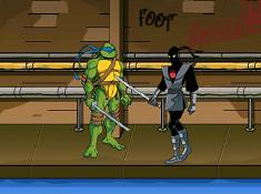 Ninja Turtles in Action