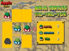 Ninja Turtles Tic Tac Toe