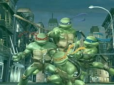 Ninja Turtles Typing