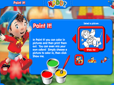 Noddy Paint It