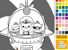 Octonauts Coloring