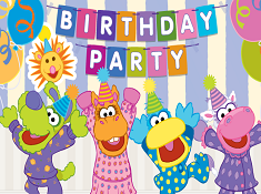 Pajanimals Birthday Party