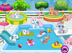 Palace Pets Pool Party