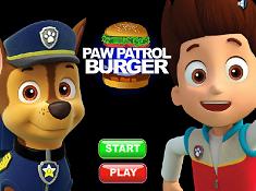 Paw Patrol Burger