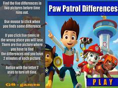 Paw Patrol Differences