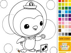 Penguin Peso Coloring