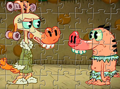 Pig Goat Banana Cricket Puzzle