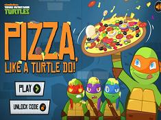 Pizza Like a Turtle Do