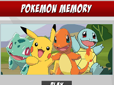 Pokemon Memory Match