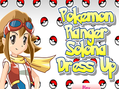 Pokemon Ranger Solon Dress Up