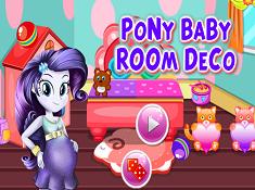 Pony Baby Room Deco