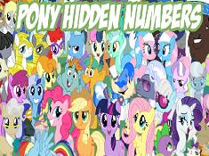 Pony Hidden Numbers
