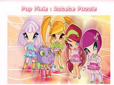 Pop Pixie Rotate Puzzle