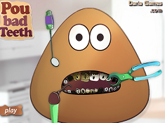 Pou Bad Teeth