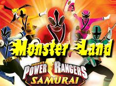 Power Rangers Samurai Monster Land