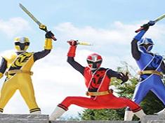 Power Rangers Shuriken Swap Puzzle