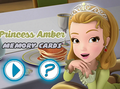 Princess Amber Memory Cards