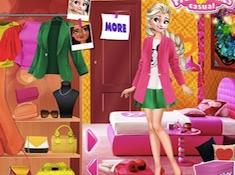 Princess Anti Fashion Color Blocks