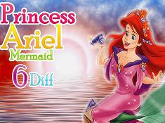 Princess Ariel Mermaid 6 Diff
