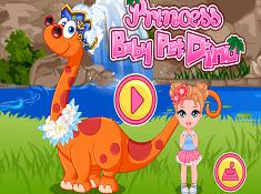 Princess Baby Pet Dino