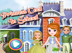 Princess Cool in School
