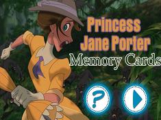 Princess Jane Porter Memory Card