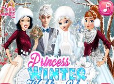 Princess Winter Wedding Ideas
