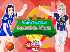 Princesses Basketball Team