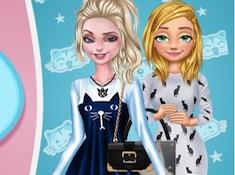 Princesses Feline Fashion
