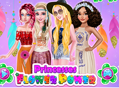 Princesses Flower Power