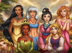 Princesses Hidden Letters