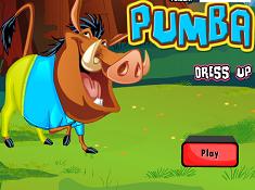Pumbaa Dress Up