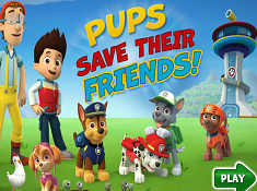 Pups Save Their Friends