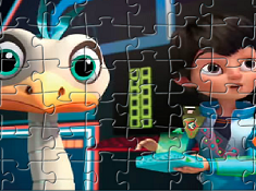 Puzzle Miles and Merc