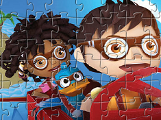 Puzzle Zack and Friends Playing