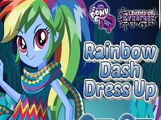 Rainbow Dash Dress Up