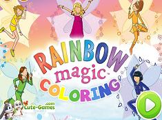 Rainbow Magic Coloring
