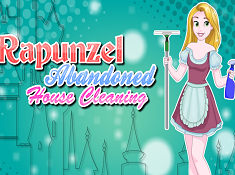 Rapunzel Abandoned House Cleaning