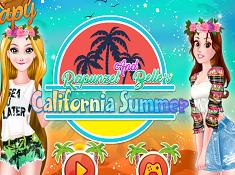 Rapunzel and Belles California Summer