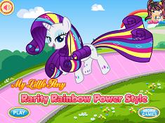Rarity Rainbow Power Style