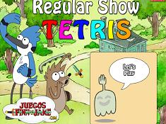 Regular Show Tetris