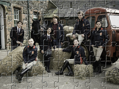 Ride Characters Puzzle