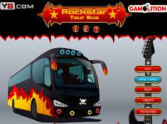Rockstar Tour Bus