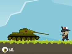 Russian Tank vs Hitlers Army