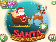 Santa Sleigh Accident