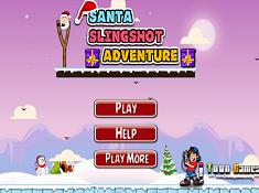 Santa Slingshot Adventure