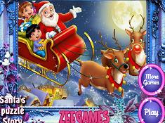 Santas Puzzle Story