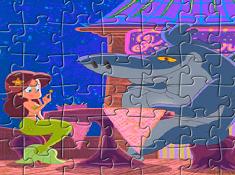 Sharko and Marina Puzzle