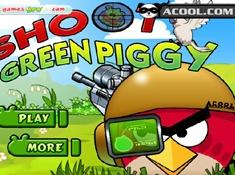 Shoot Green Piggy