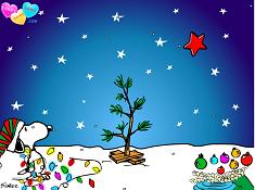 Snoopy Christmas Tree Decoration